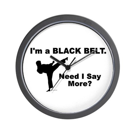 Need I Say More? Wall Clock