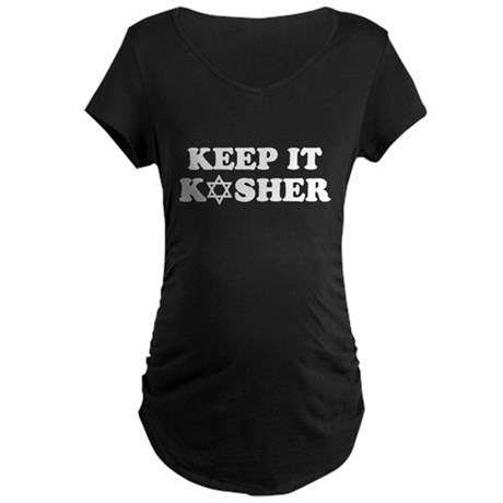 Keep it Kosher Maternity Dark T-Shirt