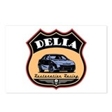Delia Racing Postcards (Package of 8)