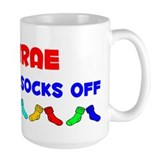 Desirae Rocks Socks (A) Coffee Mug