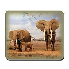 Elephants Mousepad