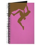 PINK GREEN CLIMBER Journal