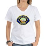 Long Beach Airport PD Women's V-Neck T-Shirt