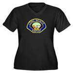 Long Beach Airport PD Women's Plus Size V-Neck Dar