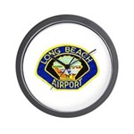 Long Beach Airport PD Wall Clock
