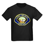 Long Beach Airport PD Kids Dark T-Shirt