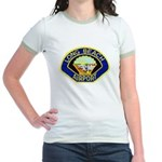 Long Beach Airport PD Jr. Ringer T-Shirt