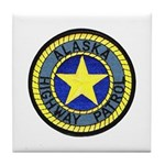 Alaska Highway Patrol Tile Coaster