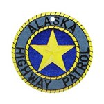 Alaska Highway Patrol Ornament (Round)