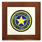 Alaska Highway Patrol Framed Tile
