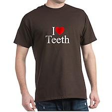 """I Love (Heart) Teeth"" T-Shirt"
