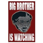 Big Brother is Watching (23x35 poster)