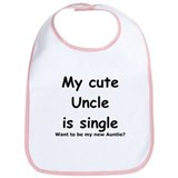 My cute uncle is single Bib