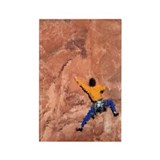WALL CLIMBER PAINTING Rectangle Magnet (10 pack)