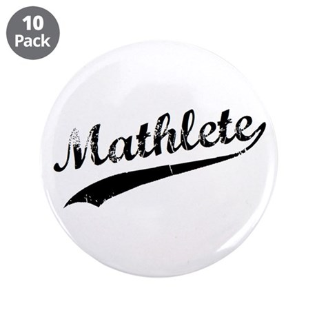 "Mathlete 3.5"" Button (10 pack)"