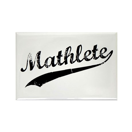 Mathlete Rectangle Magnet (10 pack)