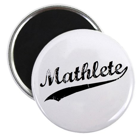 "Mathlete 2.25"" Magnet (10 pack)"