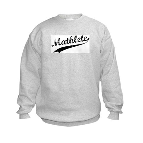 Mathlete Kids Sweatshirt