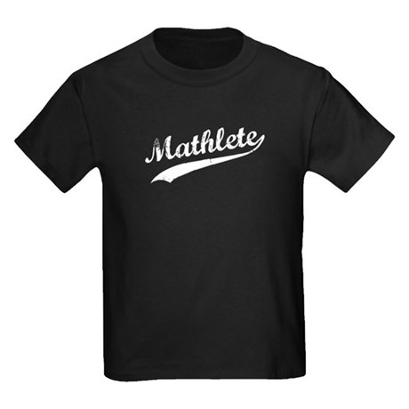 Mathlete Kids Dark T-Shirt