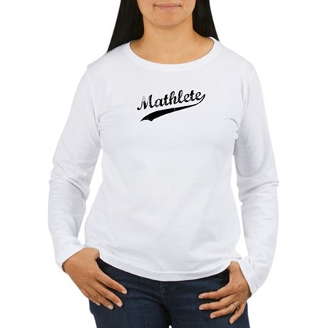 Mathlete Women's Long Sleeve T-Shirt