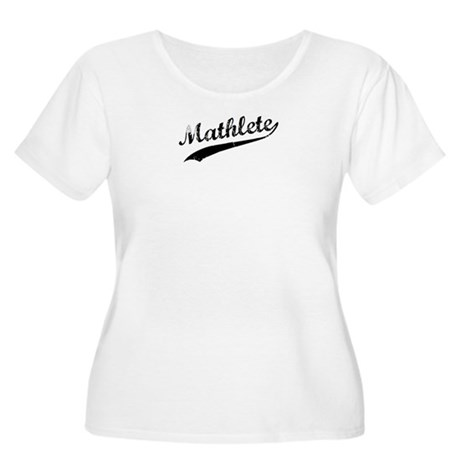Mathlete Women's Plus Size Scoop Neck T-Shirt