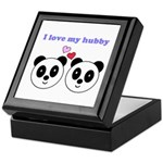 I LOVE MY HUBBY Keepsake Box