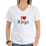 """I Love (Heart) Rings"" Shirt"