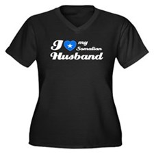 I love my Somalian Husband Women's Plus Size V-Nec