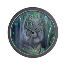 Tiger Falls Wall Clock