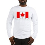 Cute Canada day Long Sleeve T-Shirt