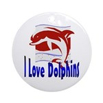 Dolphin Keepsake (Round)