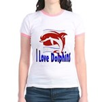 Dolphin Jr. Ringer T-Shirt