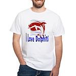 Dolphin White T-Shirt