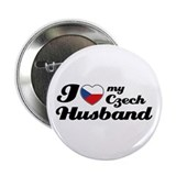 "I love my Czech Husband 2.25"" Button"
