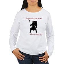 Hit with Sticks Women's Long Sleeve T-Shirt
