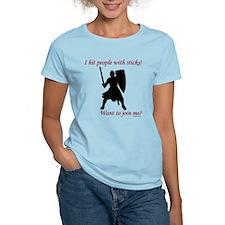 Hit with Sticks Women's Light T-Shirt