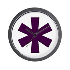 Asterisk Wall Clock