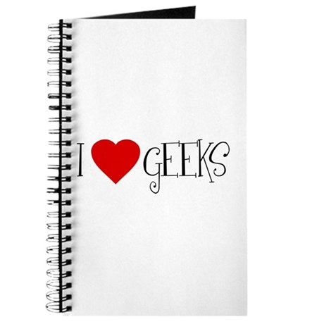 I Love [heart] Geeks Journal