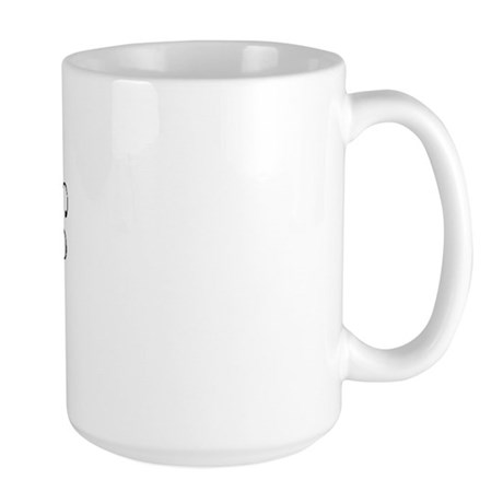 I Love [heart] Geeks Large Mug