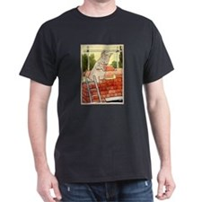 """Pig Handyman/Bricklayer"" T-Shirt"