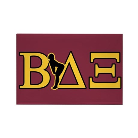 Beta House Fraternity Rectangle Magnet