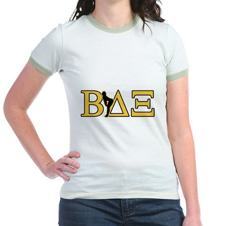Beta House Fraternity Jr Ringer T-Shirt