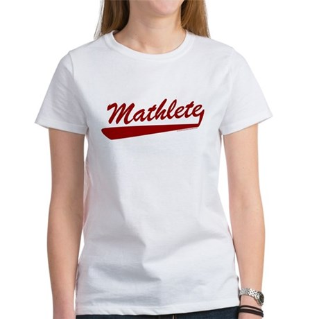 Mathlete Womens T-Shirt