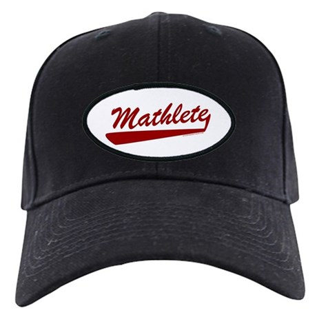Mathlete Black Cap