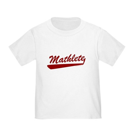 Mathlete Toddler T-Shirt