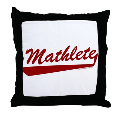 Mathlete Throw Pillow
