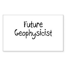 Future Geophysicist Rectangle Decal