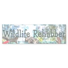Wildlife Rehab Bumper Bumper Sticker
