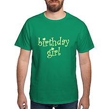 Irish Birthday Girl T-Shirt