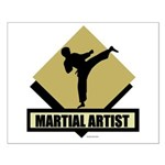 Martial Artist Small Poster